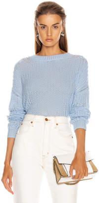 A.L.C. Reno Sweater in Baby Blue | FWRD