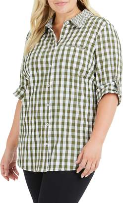 Foxcroft Reese Gingham Shirt