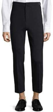 Solid Homme Solid Homme Men's Buckle Tab Chinos - Navy - Size 52 (42)