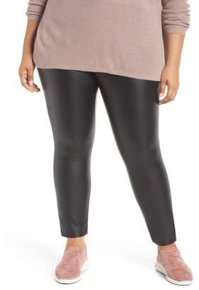 67c9a5f086d164 Lysse Lyss? High Rise Faux Leather Leggings (Plus Size)