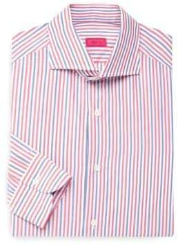 Isaia Classic Striped Dress Shirt