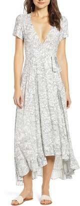 LIRA Daniella Floral Print Wrap Dress