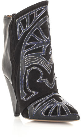Isabel Marant Berry embroidered boots