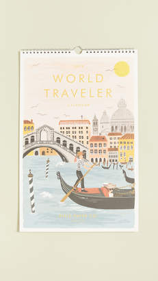 Rifle Paper Co. 2019 World Traveler Calendar