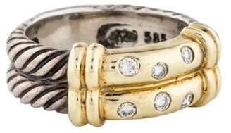 David Yurman Diamond Metro Ring