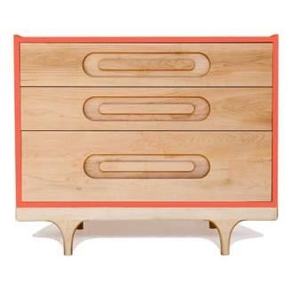 Rails Sale - Caravan Dresser - Coral Red - Kalon Studios