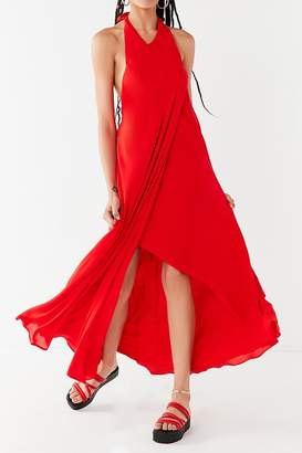 Urban Outfitters Sister High-Halter Maxi Dress