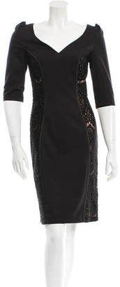 Alice by Temperley Lace-Trimmed Sheath Dress $85 thestylecure.com