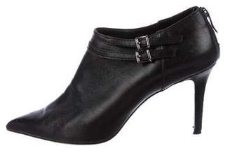 Barbara Bui Leather Pointed-Toe Booties