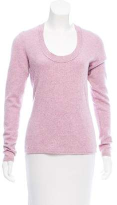 Magaschoni Long Sleeve Cashmere Sweater