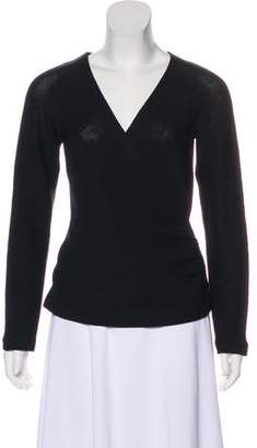 St. John V-Neck Long Sleeve Sweater