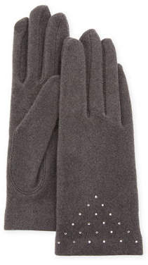 Portolano Scattered Crystal Smart Gloves