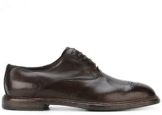 Dolce & Gabbana Marsala Oxford shoes