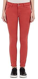Margaux Dl 1961 Women's Skinny Jeans-Red Size 25