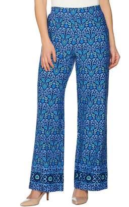 C. Wonder Petite Engineered Floral Tile Print Pants