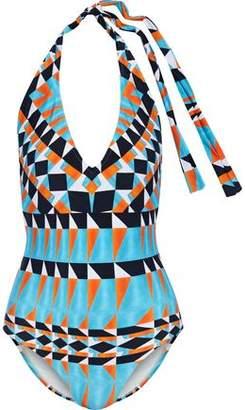 Lenny Niemeyer Printed Halterneck Swimsuit
