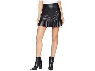 BB Dakota Veni Vidi Vici Vegan Leather Mini Skirt