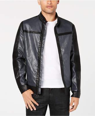 INC International Concepts I.n.c. Men's Hayden Moto Jacket, Created for Macy's