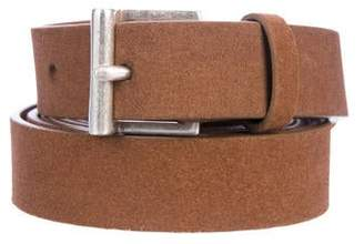 Frame Leather Wrap-Around Belt