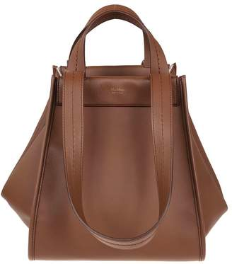 At Italist Max Mara Brown Leather Bag