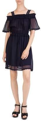 The Kooples Cold-Shoulder Dress