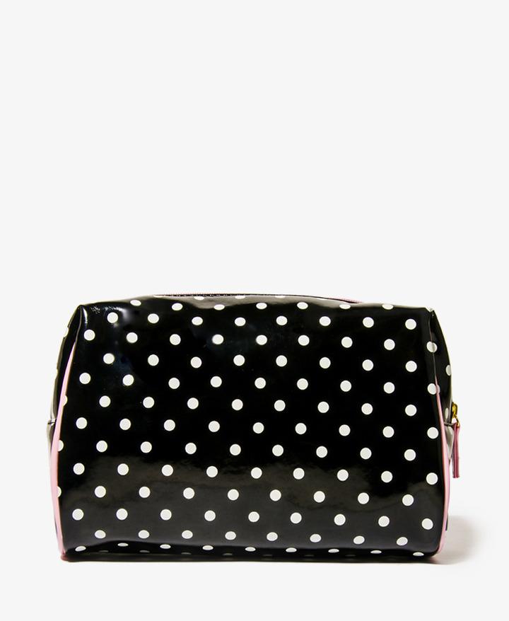 Forever 21 Polka Dot Cosmetic Bag