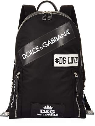 Dolce & Gabbana Logo Backpack