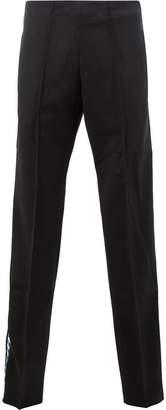 Wales Bonner side stripe trousers