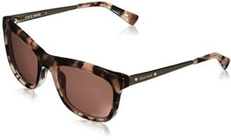 Cole Haan Women's Ch7027 Plastic Square Sunglasses