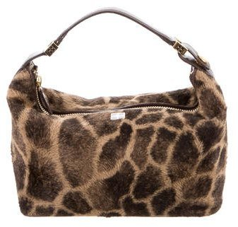 Kate Spade Kate Spade New York Giraffe Print Vegan Fur Bag