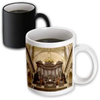 3dRose Pipe Organ in Eglise Saint Sulpice, Paris, France - EU09 BJN0588 - Brian Jannsen - Magic Transforming Mug, 11-ounce