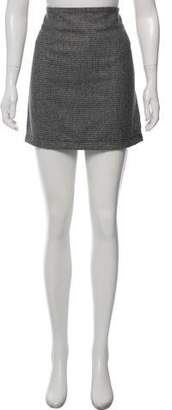 Simon Miller Houndstooth Mini Skirt w/ Tags