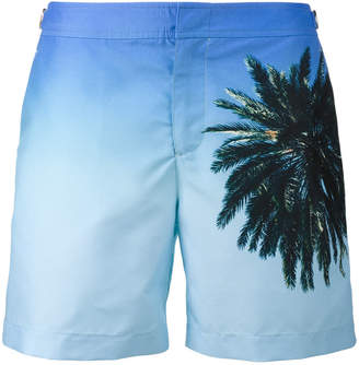 Orlebar Brown palm reacher Bulldog swim shorts