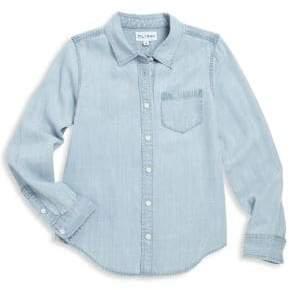 Girl's Long Sleeve Tencel Shirt