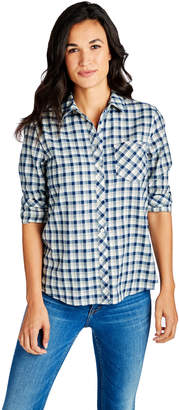 Vineyard Vines Tri-Color Flannel Chilmark Relaxed Button Down