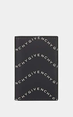 Givenchy Men's Leather Folding Card Case - Wht.&blk.