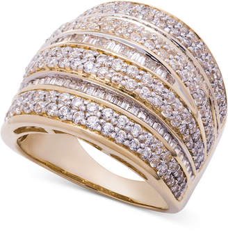 Wrapped in Love Diamond Dome Statement Ring (2 ct. t.w.) in 14k Gold