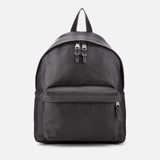 Eastpak Men's Leather Padded Pak'r Backpack - Black