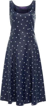 Ralph Lauren Leather Luiza Dress