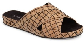 Women's Calvin Klein Maleena Slide Sandal $89.95 thestylecure.com