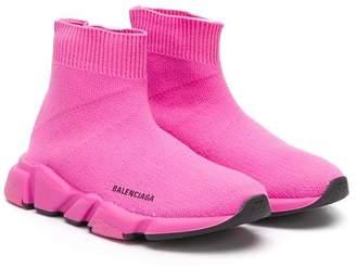06d61df48245 Balenciaga Kids Speed sock sneakers