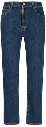 Burberry Ankle-Crop Slim-Fit Jeans