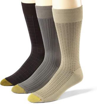 Gold Toe 3-Pk. Microfiber Socks