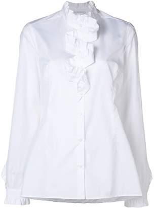Ermanno Scervino ruffled cascade blouse