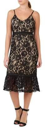 ABS by Allen Schwartz COLLECTION Women's Lace Cami Slip Dress