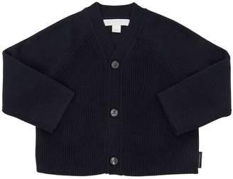 Burberry Cashmere & Cotton Knit Cardigan