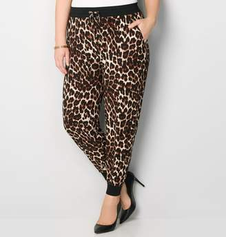 Avenue Leopard Jogger