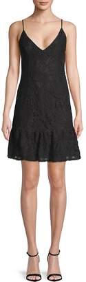 BB Dakota Women's Sleeveless Lace Dress