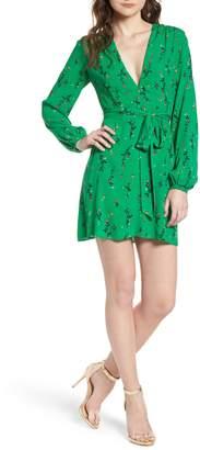 AFRM Piper Satin Open Back Dress