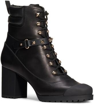 Valentino GARAVANI Rockstud Lace-Up Boot